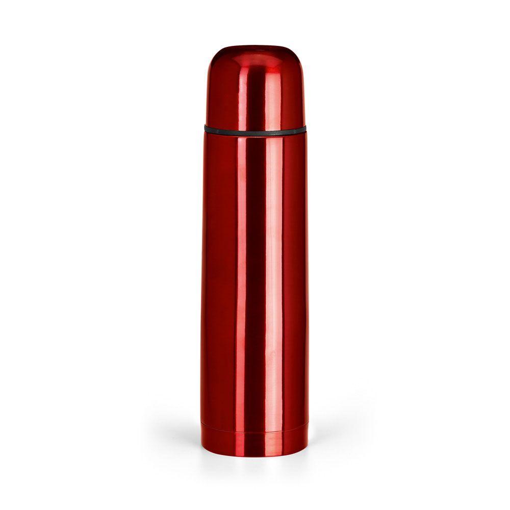 LUKA. Nerezová termoska s dvojitou stěnou a objemem až 500 ml