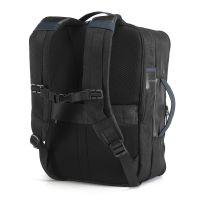 DYNAMIC 2 in 1 je městský batoh, který vyniká svou univerzálností a dualitou. Jeho efektivní design mu umožňuje být jedinečným a všestranným doplňkem, který se diskrétně mění z batohu na cestovní tašku. Batoh má dvě vnitřní kapsy, které umožňují ochr