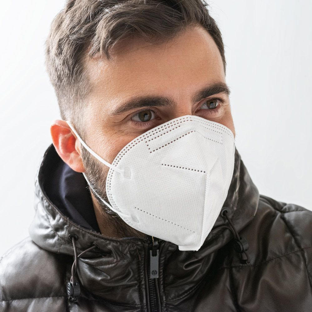 COVERBY FFP2. Maska s filtrem FFP2/KN 95/N95