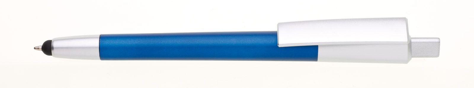 Svítící plastová propiska s vaším vygravírovaným logem.