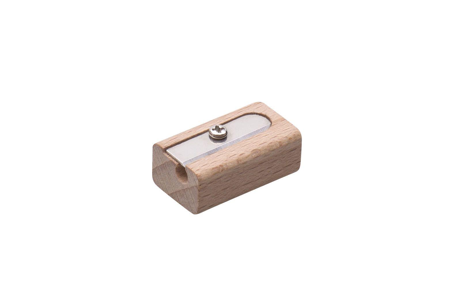 ořezávátko dřevěné na 1 tužku ANFI