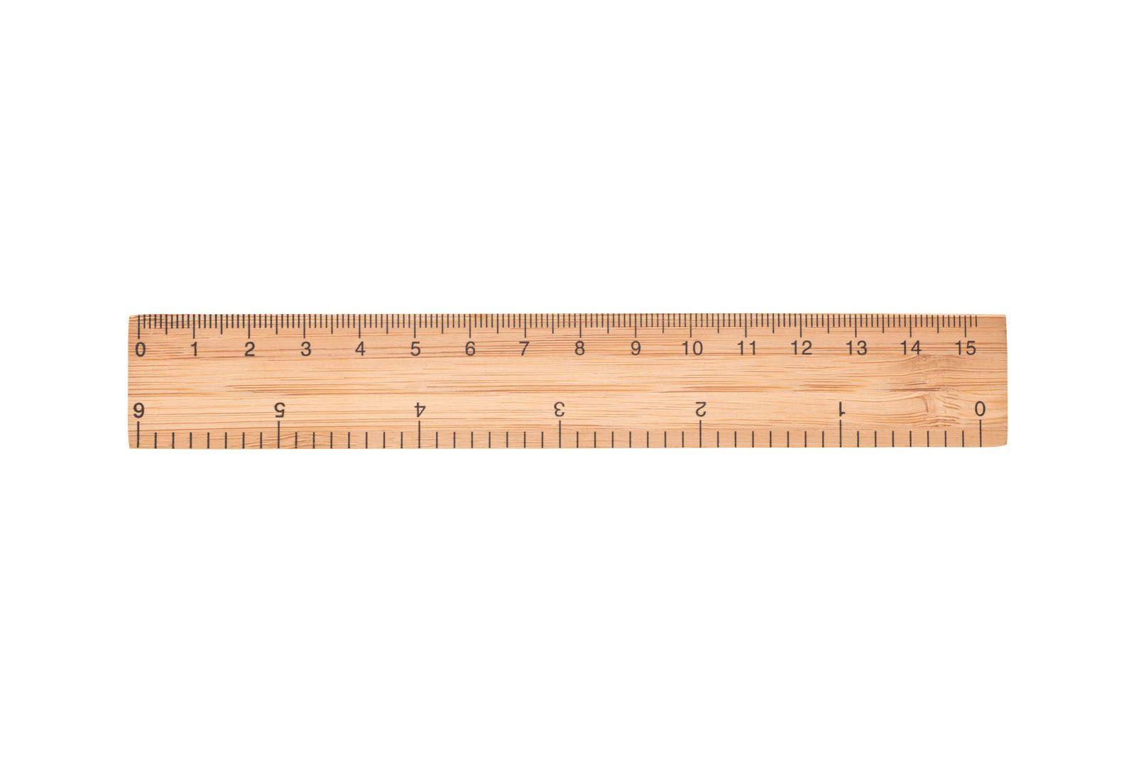 pravítko 15 cm, bambus RIGHE